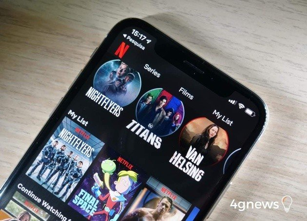 Netflix iPhone X