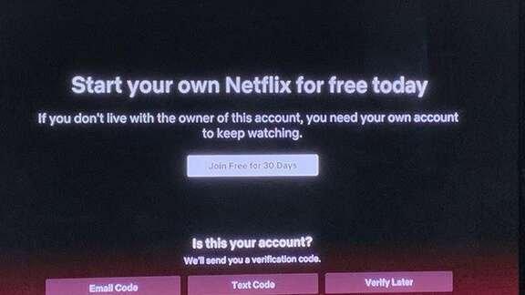 Utilizadores 'abusivos' da Netflix já receberam avisos nos Estados Unidos
