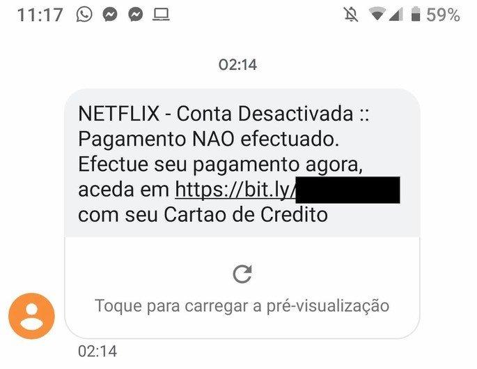Netflix burla SMS