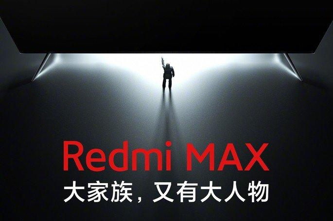 Teaser de lançamento da Xiaomi Redmi TV Max