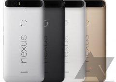 Nova fotografia do Huawei Nexus 6P divulgada e mostra 4 cores para o novo Nexus