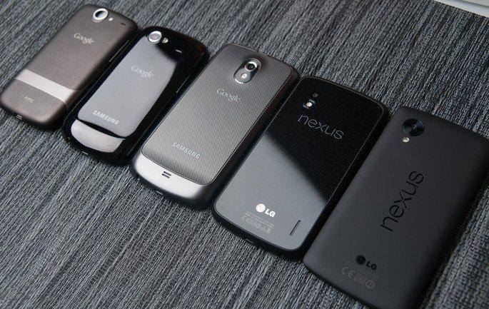 Smartphones Nexus