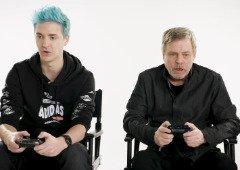 Ninja ensina o lendário Mark Hamill a jogar Fortnite (vídeo)