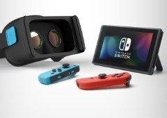 Nintendo Switch com realidade virtual pode estar a caminho