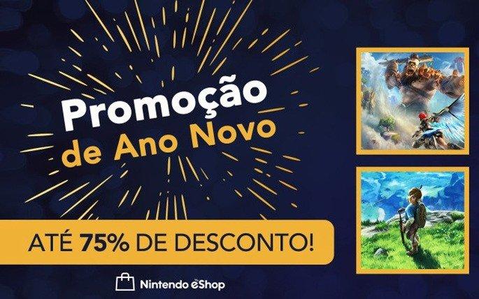 Nintendo Switch eShop promoções