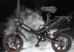 Niubility B14: bicicleta elétrica dobrável com autonomia até 100 km
