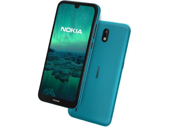 Telemóvel Nokia 1.3 em verde