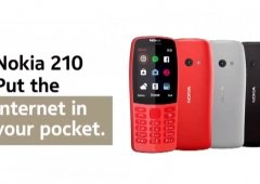 Nokia 210 é o novo telemóvel da Nokia que custa 30€