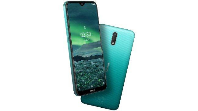 Telemóvel Nokia 2.3 em verde