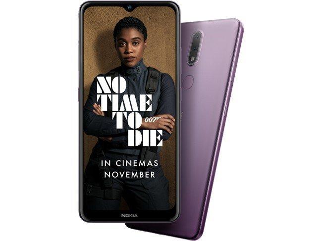 Telemóvel Nokia 2.4 em roxo