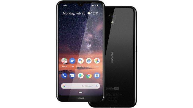 Telemóvel Nokia 3.2 em preto
