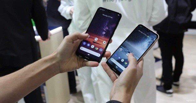Novos smartphones Nokia