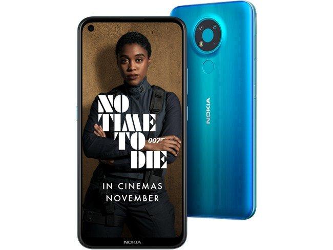 Telemóvel Nokia 3.4 em azul
