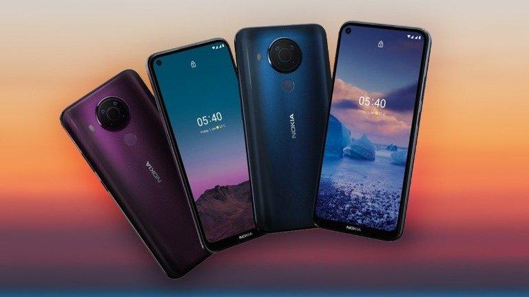 Nokia 5.4 é oficial! Conhece o novo gama-média que custa menos de €200