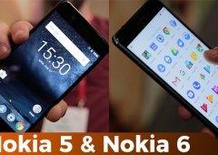 Os Nokia estão de volta! Hands-on do Nokia 5 e Nokia 6