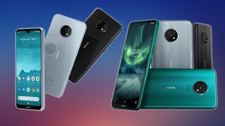 Nokia 7.2 e Nokia 6.2 são oficiais! Eis os preços e características