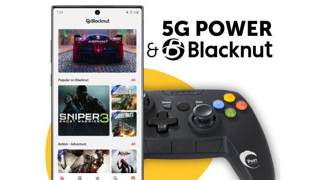 Blacknut gaming 5G