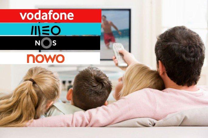 Vodafone MEO NOS NOWO