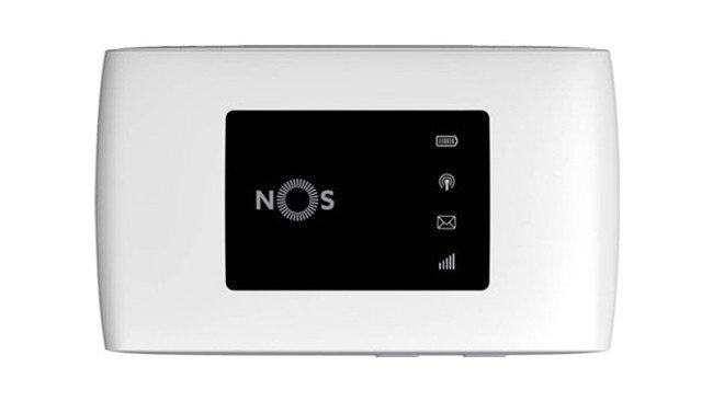 Router NOS NOS Hotspot Kanguru 4G melhor net móvel ilimitada