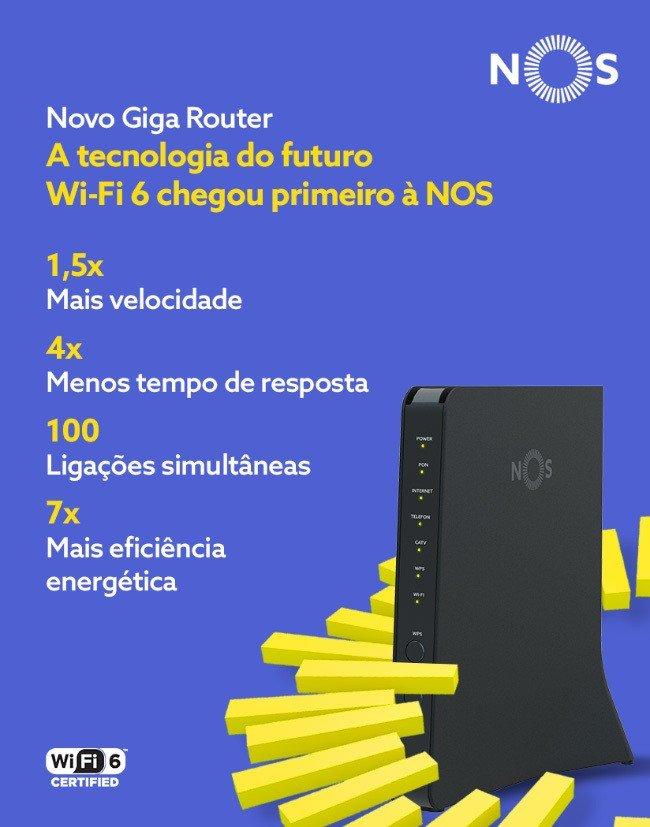 NOS router wi-fi 6