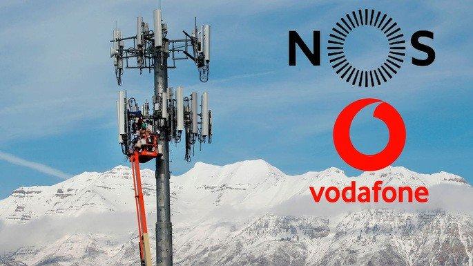 Vodafone e NOS parceria