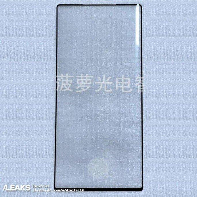 samsung galaxy note 10 protetor de ecrã