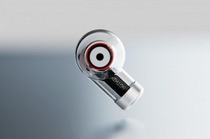 Versão conceptual dos Nothing Ear 1, revelada pela marca em 2020