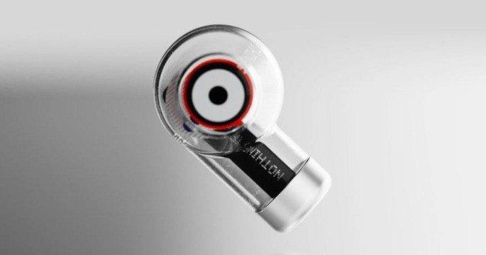O design conceito dos primeiros auriculares da Nothing