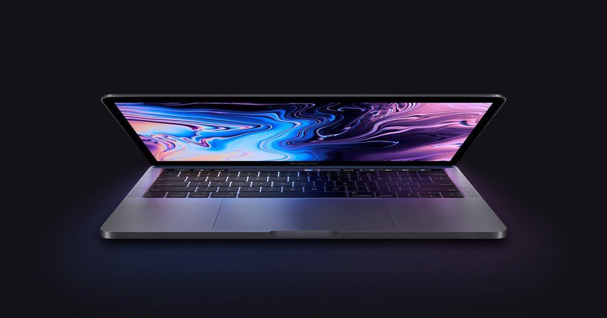 MacBook Pro 13 inch mới có thể ở ngay góc 1