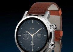 Novo smartwatch Motorola Moto 360: design elegante e um preço a ter em conta