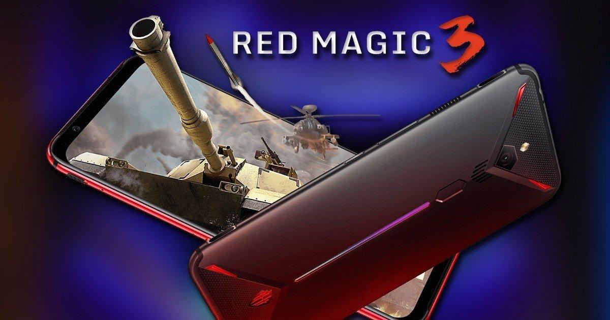 Nubia Red Magic 3 é o smartphone perfeito para 'gamers' e já