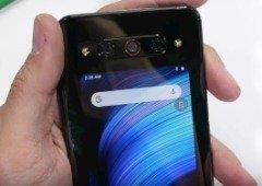 Nubia Z20. Smartphone com dois ecrãs surpreende em teste de dobragem