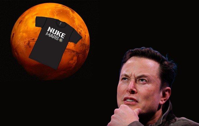 Nuke Mars