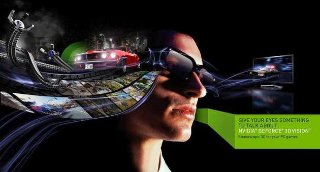 nvidia 3d vision drivers
