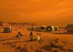O novo plano de Harvard para os humanos viverem em Marte