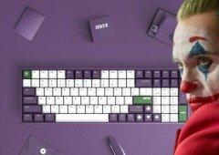 O novo teclado da Xiaomi é inspirado no Joker! Sabe tudo!