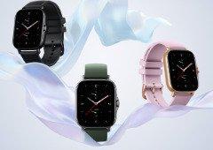 Amazfit GTS 2e e GTR 2e oficiais globalmente: smartwatch baratos com aspeto premium