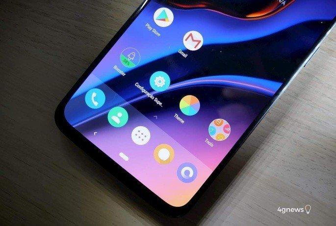 OnePlus ecrã
