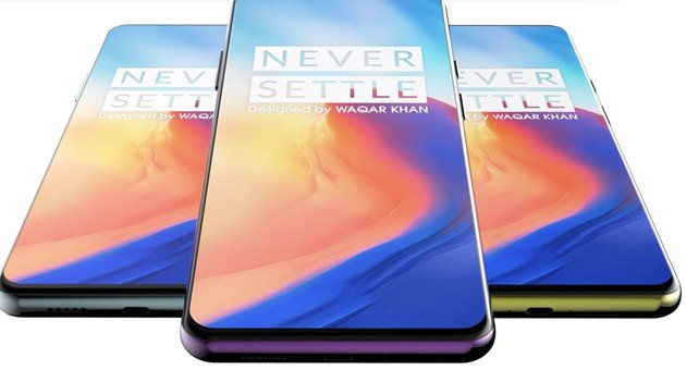 OnePlus 7 painel frontal