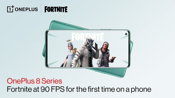 OnePlus 8 Fortnite