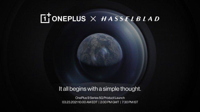 OnePlus 9 Pro tem apresentação marcada para 23 de março. Parceria com a Hasselblad é oficial