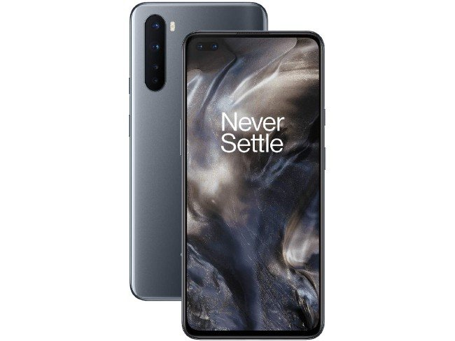 telemóvel OnePlus Nord em cinza