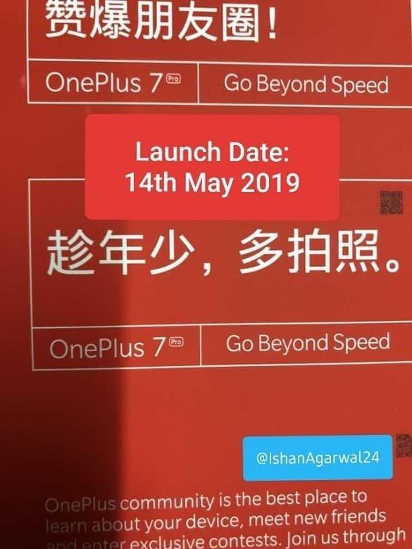 OnePlus 7 data