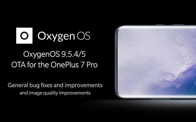 OnePlus 7 Pro atualização OxygenOS