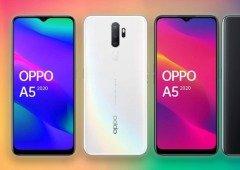 Oppo A5 (2020) é o novo média gama com grande bateria e carregamento inverso!