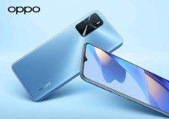 Oppo A54s com bateria de 5000 mAh disponível em novembro por 229 euros