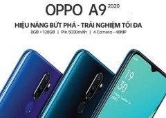 Oppo A9 tem especificações reveladas e está confirmado módulo com quatro câmaras!