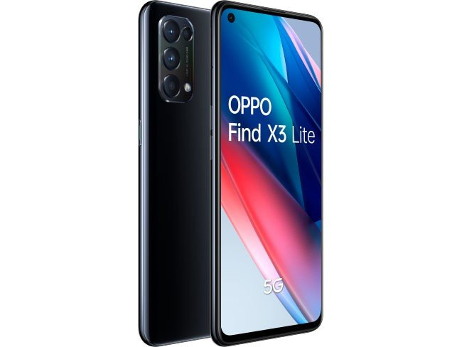 OPPO Find X3 Lite smartphone Android