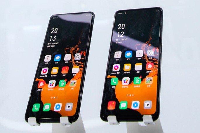 OPPO smartphone do futuro protótipo