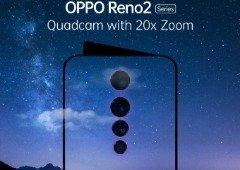 OPPO Reno 2: smartphone vai revolucionar com quatro câmaras e Zoom 20x!